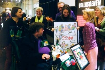 2200Godnathistorier får tildelt IBBYs Klods-Hans pris for sin indsats for at formidle børnelitteratur