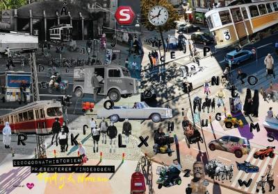 """Bogreception for børnebogsprojektet """"Find Os Fra Nørrebro"""" Illustration: Lena Nicolajsen"""