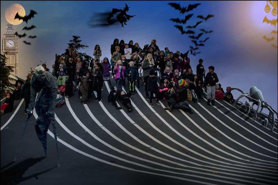 Halloween-højtlæsningsfest for Nørrebrobørn