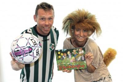 LøVen fra Nørrebro United og Stine Josefine fra 2200Godnathistorier