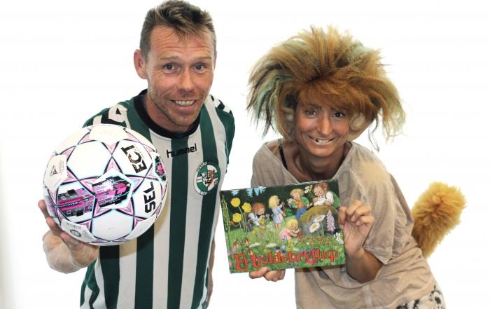 Børnebogsforfatter Stine Josefine Dige og Løven fra Nørrebro United