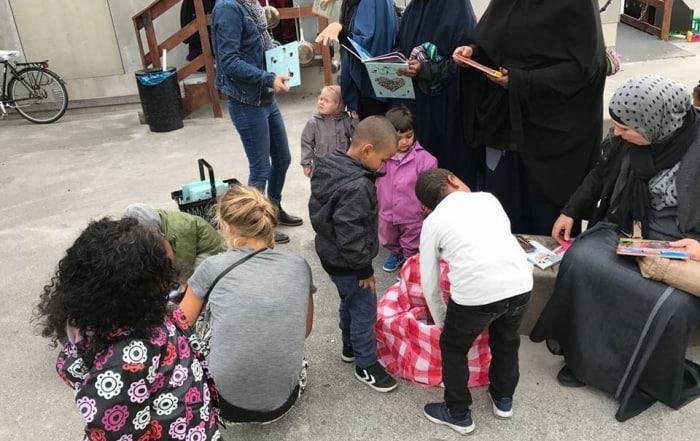 2200Godnathistoriers bogindsamling giver masser af glade børn