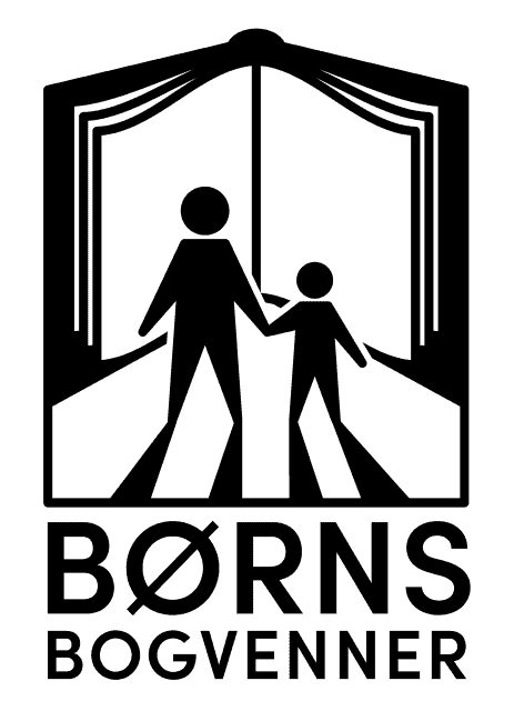 Børns Bogvenner logo. Link til Børns Bogvenner hjemmeside.