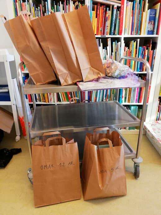 Bogposer er pakket og klar til at sprede glæde